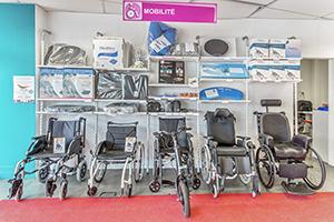 Spécialiste handicap fauteuil roulant matériel médical vente et location Bastide Amiens
